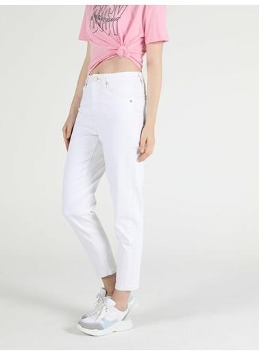 Colin's 896 Marıa Yüksek Bel Daralan Paça Mom Fit Jean Kadın Jean Pantolon Renkli